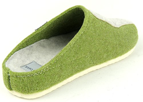 TOFEE , Chaussons pour femme Vert