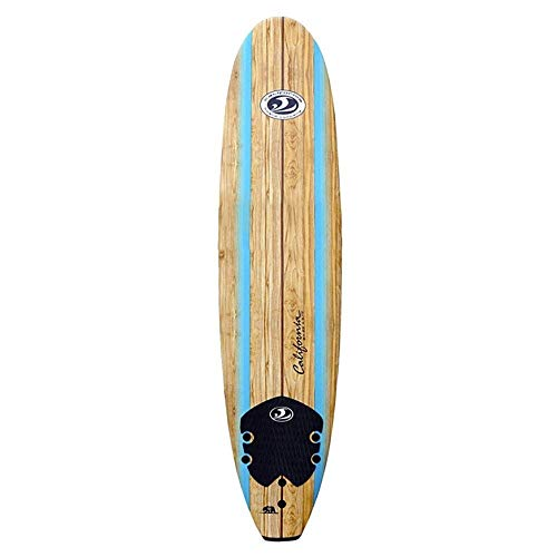 CBC 8'0'', TAVOLA Surf SOFTBOARD Unisex-Adulto, Blue