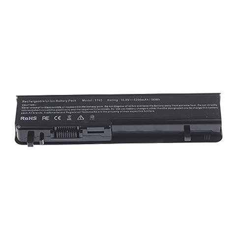 Vinteky® 11.1V 5200mAh Li-ion Batterie de rechange pour Dell Studio 17, 1745, 1747, 1749, Dell 312-0186, N855P,