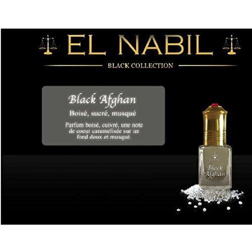 EL NABIL - MUSC BLACK AFGHAN 5ml - LOT DE 6