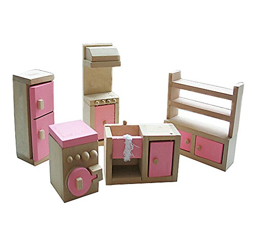 Nette hölzerne Spielhaus Spielzeug Montage Küchenmöbel Spielzeug