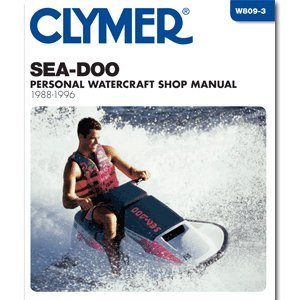 clymer-repair-manual-seadoo-water-vehicle-pwc-88-96-by-clymer
