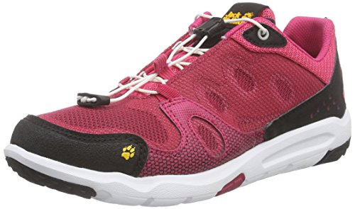 Jack Wolfskin Damen Monterey AIR Low W Sneakers, Pink (Azalea red 2081), 38 EU -