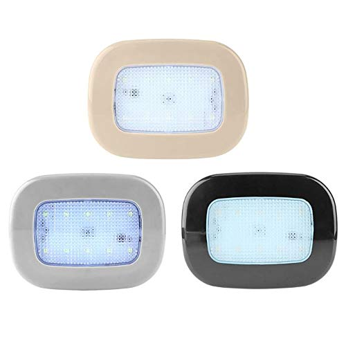 PDDXBB Decken-Auto-Wieder Aufladbare Klebende Nachtlampe Führte Selbstmagnetleselampe Innendeckenlampe LKW-Nachtbeleuchtung Weiß 12 * 9Cm - Wieder Aufladbare Motorrad
