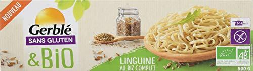 Gerblé Linguine Riz Complet sans Gluten Bio 500 g