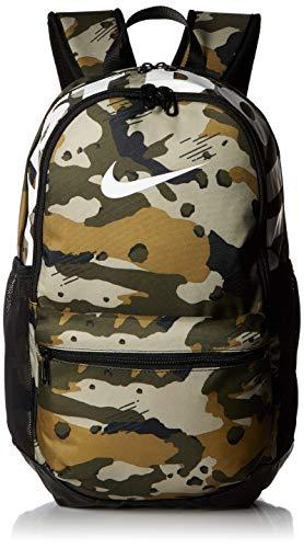 Nike Nk Brsla M Bkpk-AOP Mochila, Unisex Adultos, (Neutral Olive/Black /), 15x24x45 cm (W x H x L)