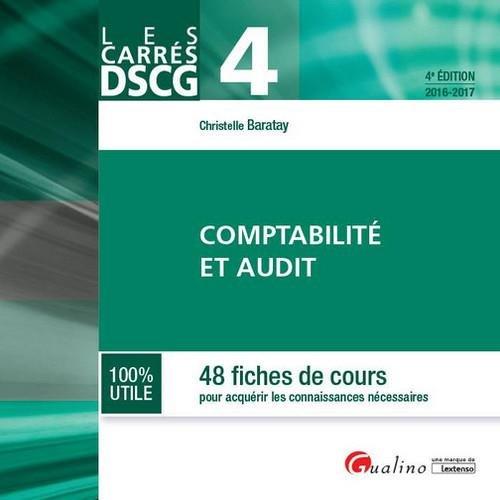 DSCG 4 - Comptabilité et Audit 2016-2017
