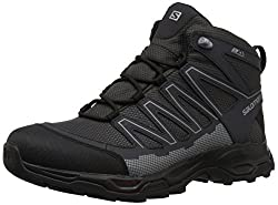 Salomon Mens Pathfinder Mid CSWP M Walking Shoe, Magnet/Phantom/Monument, 11.5 Medium US
