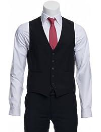 CINQUE Herren Businessweste Cimelotti-W Slim Fit schwarz 48/S