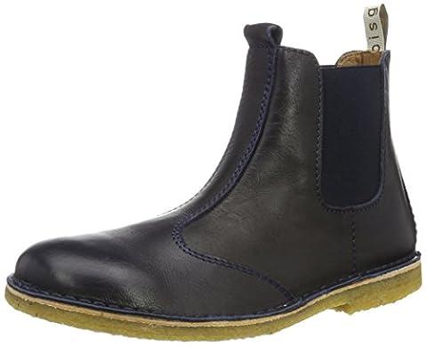 Bisgaard Boot 50205216, Unisex-Kinder Schneestiefel, Blau (602 Blue) 39