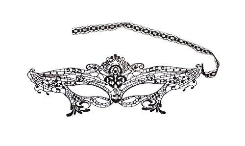 Damen Festival Maskerade Karneval Schablone, Motiv Evening Half-Face-Maske