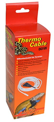 Lucky Reptile HTC-80 Thermo Cable 80 W, 6.5 m, Heizkabel für Terrarien