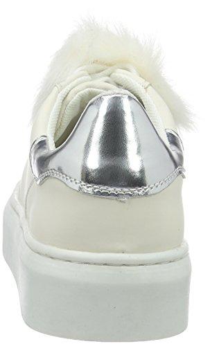 Blink Blane, Baskets Basses Femme, 36 EU Blanc - Weiß (Off White 05)