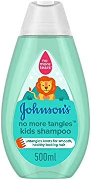 JOHNSON'S Kids Bath, Shampoo - No More Tangles, 500ml