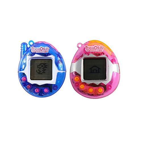 MSHIER 90s Spielzeug mit 48 Tiere virtuell Tier Nostalgie elektronisches Spielzeug (2)