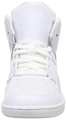 Nike Jungen Son of Force Mid (Ps) Basketballschuhe Blanc (Blanc / Blanc-Blanc)