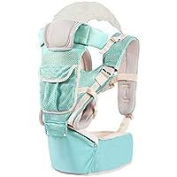f48dd758e Yudanwin Seguro para recién Nacidos Portabebés Hipseat Multifuncional  Asiento de Cintura Ligero y Transpirable para niños