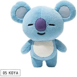 TO_GOO Bulletproof Youth League Plush Doll Almohada Bt21 Muñeca periférica Jin Taiheng Koala 25CM