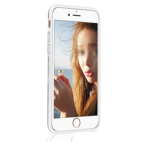 Custodia per iPhone 6 Plus/6S Plus 5.5 Matte Marble - Bonice Marmo Disegni Ultra Sottile Slim Silicone Morbida Opaca Gel TPU Antiurto Antishock Protettiva Cover Case per iPhone 6S Plus/6 Plus - Blu 0 Marble-Cover-04