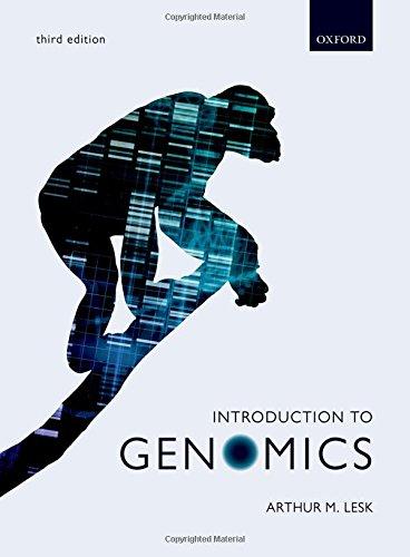 Introduction to Genomics por Arthur Lesk