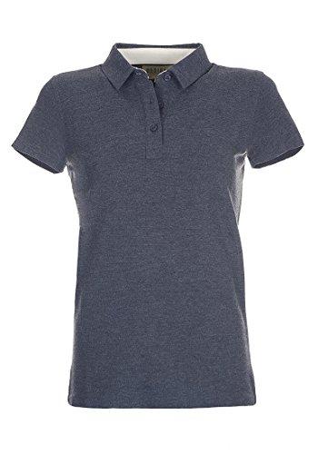 DESIRES Lillian Poloshirt, Größe:L;Farbe:Insignia Blue Melange (8991)