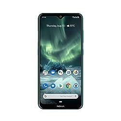 Nokia 7.2 Smartphone - Deutsche Ware (16cm (6,3 Zoll), 64GB Interner Speicher, 4GB RAM, Dual-SIM, LTE) Green