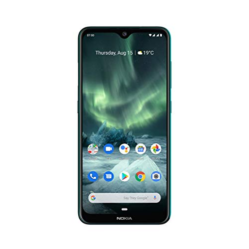 Nokia 7.2 Smartphone - Deutsche Ware (16cm (6,3 Zoll), 128GB Interner Speicher, 6GB RAM, Dual-SIM, LTE) Cyan Green - [Exklusiv bei Amazon]