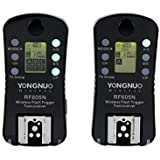 YONGNUO RF605N RF-605 Wireless Flash Trigger with LCD for Nikon Cameras with WINGONEER Diffuser
