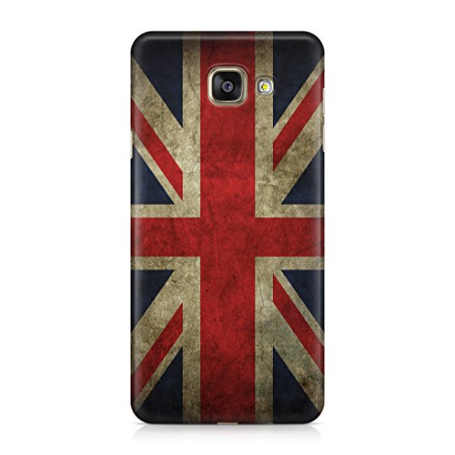 Cover Custodia Protettiva Case UK United Kingdom Bandiera Flag Rovinata Spoiled Vintage Compatibile con Samsung Galaxy A Series A3 – A5 – A3 2016 – A5 2016 – A7 2017 – A3 2017 – A5 2017 – A7 2017