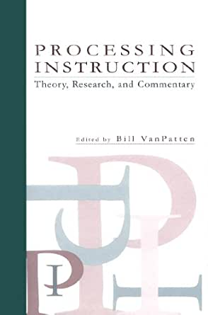 processing instruction theory research and commentary pdf free
