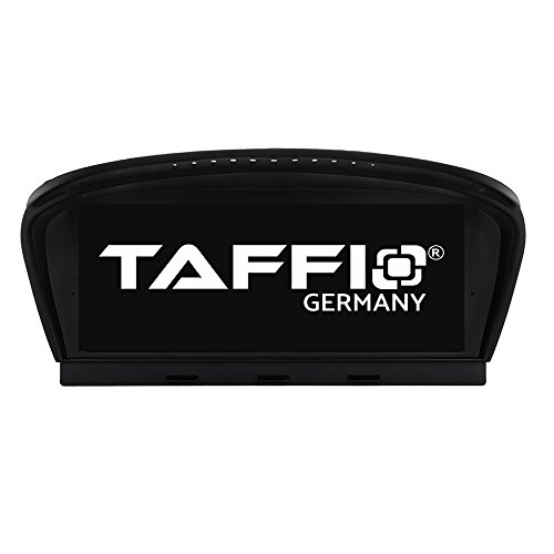 TAFFIO® Android 9.0 HD Anti Glare Touchscreen GPS Navigation SD USB Multimedia Media Player für BMW E60 E61 E63 E64 M5 E90 E91 E92 mit CIC System 8-Core Prozessor 4GB RAM + 32GB ROM*