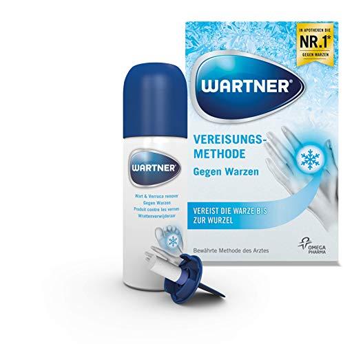 Wartner Spray gegen Warzen, 50 ml, 1er Pack (1 x 50 ml), Warzenentferung, Warzenvereisung