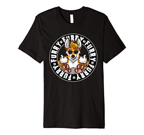 Hipster Fox Shirt - Furry T Shirt Gift Women Men Kids