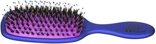 J&D Beauty Wet Brush, Pro Shine Enhancer Detangle Brush, Blue