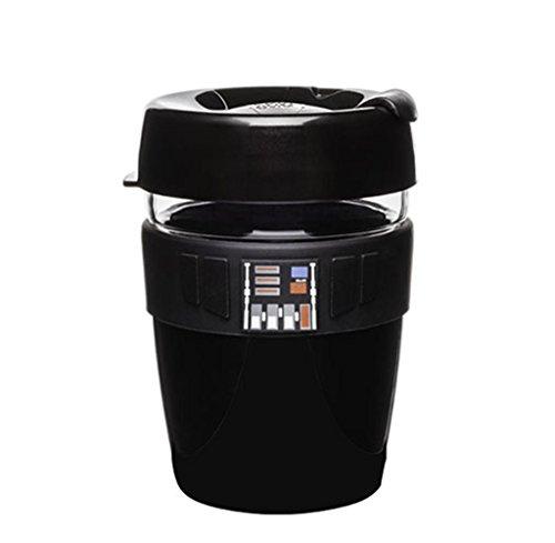 KeepCup - Taza de café reutilizable, plástico, Darth Vader Twin Wall, 12-Ounce/Medium