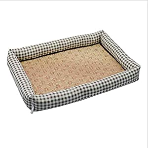 Hundebett wasserdicht Sommer Haustier Hund Matte Klimaanlage Kühlung Zwinger für große kleine Stil 8_XL
