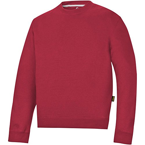 Snickers 28101600007 Sweat-shirt Taille XL Rouge Chili