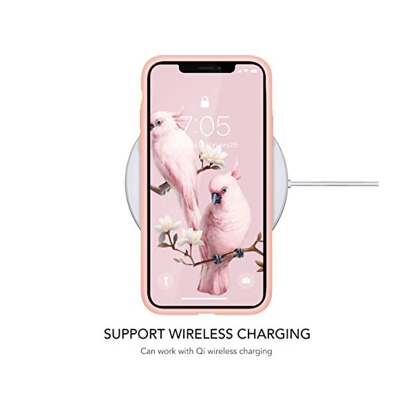 Oihxse Compatible with Huawei P20 Case Cover with Design, Soft TPU Back Shell [Anti-Slip] [Anti-Fade] [Support Wireless Charging] Slim Fit Pink Matte Texture Protective Bumper Skin-White Rsse Oihxse 🦜【Ultra-Thin & Slim Fit】Ultra-Slim design snugly fit for your Huawei P20 to bring [Sleek Look], [Stylish Charming] and [Great in-hand Feeling] due to the process with matte finish compliment with fashion pattern on the mobile phone case back-pink colour. 🦜【Support Wireless Charge】With precision cutouts of the Huawei P20, you can easy access to headphone jack, charger port, key mute, speakers, audio ports and buttons without the interference of [WiFi Reception], [Signal Reception], [Wireless Charging Performance], etc. 🦜【Anti-Fingerprint & Non-Fade Material】Crafted with soft anti-yellowing and non-fade TPU material with red frosted finish to provide you fingerprint resistant, anti-slip, daily scratches, bumps, drops and other daily damages. 7