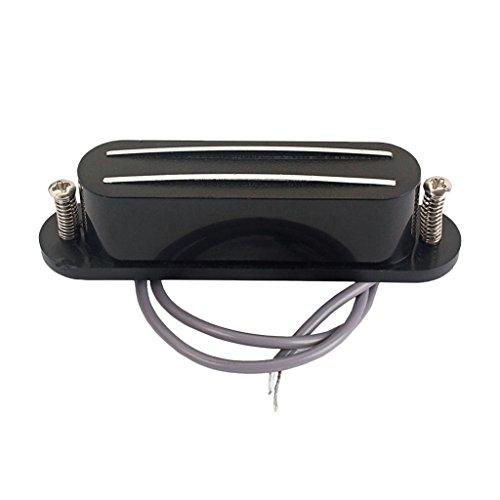 MagiDeal Dual Hot Rail Humbucker Tonabnehmer Für Mandolin Cigar Box Gitarren-Teile (Cigar-box-gitarre)