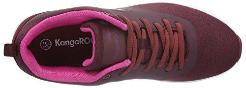 KangaROOS Kangacore 2106, Sneaker Basse Donna Rosso (Rot (Burgundy/Magenta 668))