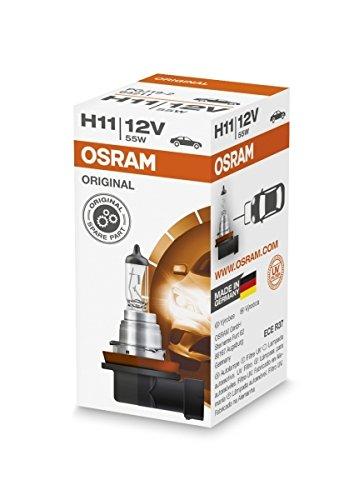 KITT 64211 H11 Halogen-Scheinwerferlampe 64211, 12 V, Kartonbox, 1 Stück Nebelscheinwerfer Fernlicht