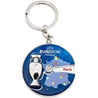 Official Euro 2016Coupe and hôte City Spinner Porte-clés (45mm)