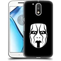 Ufficiale WWE The Mask Sting Cover Retro Rigida per Motorola Moto G4 / G4 Plus