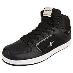 Sparx Mens Black Colour SM250 Series Synthetic Casual Shoes 8UK