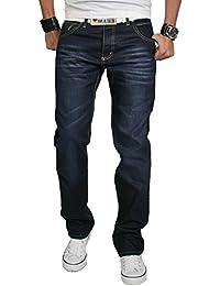 Rock Creek Jeans pour hommes Pantalon à coutures épaisses ... fe404364c40a