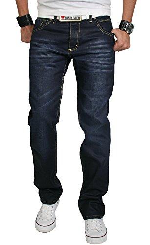 Rock Creek -  Jeans  - Uomo Nero