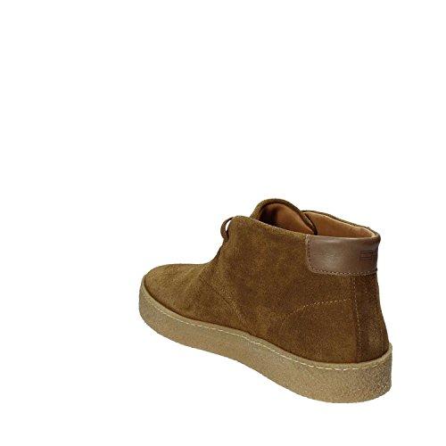 Tommy Hilfiger L2285ogan 2b, Sneaker a Collo Alto Uomo Marrone
