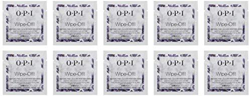 OPI - Acetonfreie Lack-Entferner Tücher - WIPE OFF! - Lavendelduft - 10pk -
