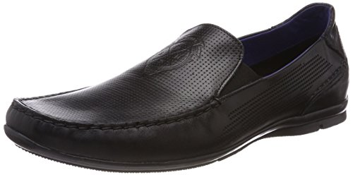 Daniel Dude Men 821247641100 Pantofola Nero (nero)