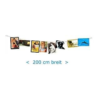 HAB & GUT© - MC009 - Fotoseil Set waagerecht 2,00m & 12 Magnete